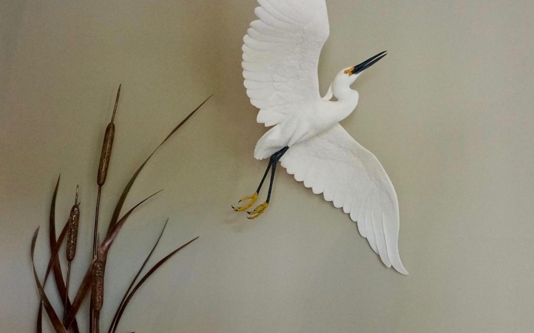 Snowy Egret Entrance